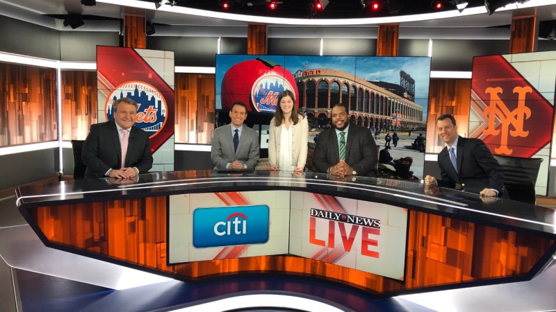 student with the Daily News Live Cast